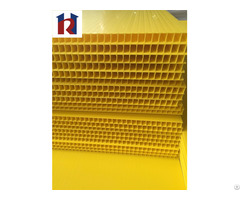 10mm Thickness Fluted Pp Hollow Board Sheet Correx Coroplast Corflute
