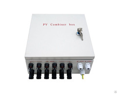Pre Wired 6 String Solar Panel Combiner Box With 10a Circuit Breakers