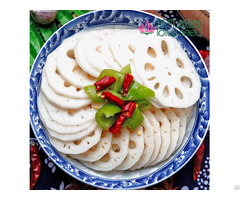Fresh Frozen Sliced Lotus Root Chips Slices
