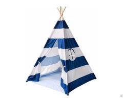 Foldable Cotton Canvas Indian Teepee Kid Play Tent For Children