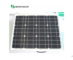30w Monocrystalline Solar Panel For Off Grid System
