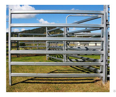 Durable Portable Steel Pipe Livestock Yard Panels