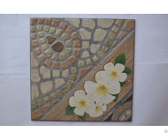 Retro Antique Garden North European Floral Artistic Ceramic Tile