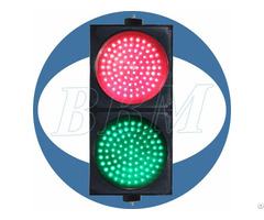 200mm Red And Green Ball With Clear Lens Led Traffic Light Signal