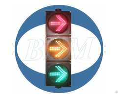 8inch Red Green Yellow Arrow With Clear Lens Led Traffic Light