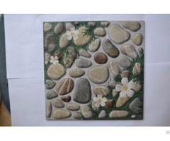 Antiskid Small Minqing Ceramics Pastoral Pebble Non Slip Floor Tiles For Garden