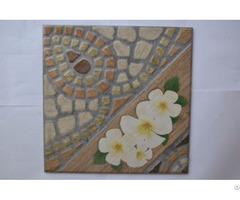Retro Antique Garden North European Floral Artistic Ceramic Tile