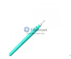 10g Om3 50 125μm Multimode Simplex Tight Buffer Round Riser Indoor Fiber Optic Cable