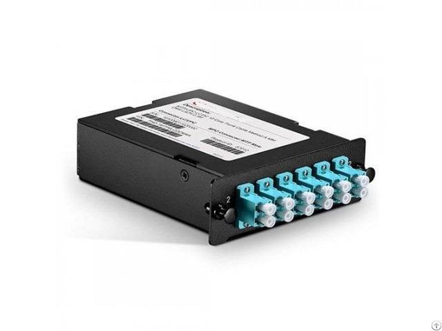 Laser Optimized Mpo Mtp Cassette 12 Fibers 10g Om3