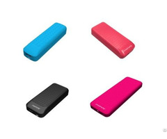 Handphone Charger Ultra Slim Dual Usb Ports 4000mah Portable Power Bank External Battery Pack