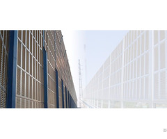Noise Absorbing Barrier Aluminum Panels