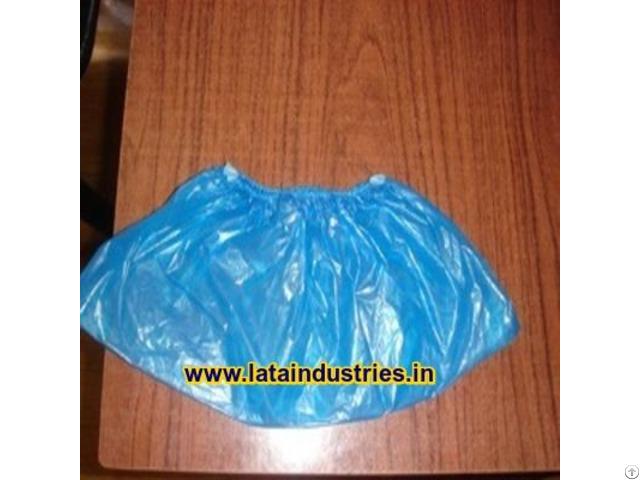 Plastic Disposable Shoe Cover Elastic