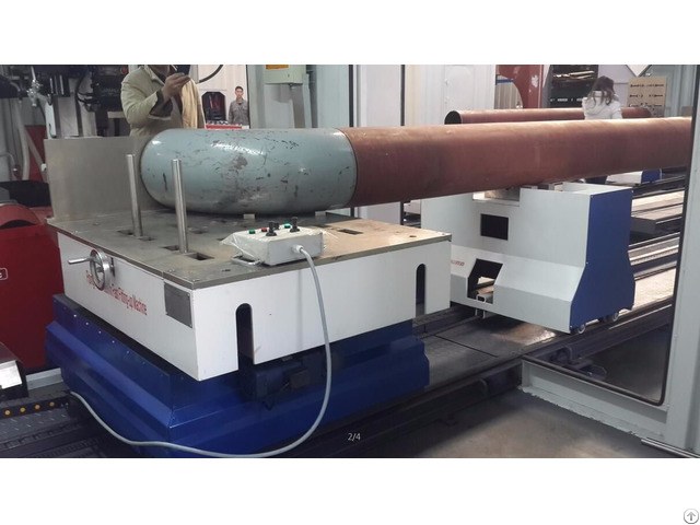 Piping Fabrication Fast Fitting Up Machine