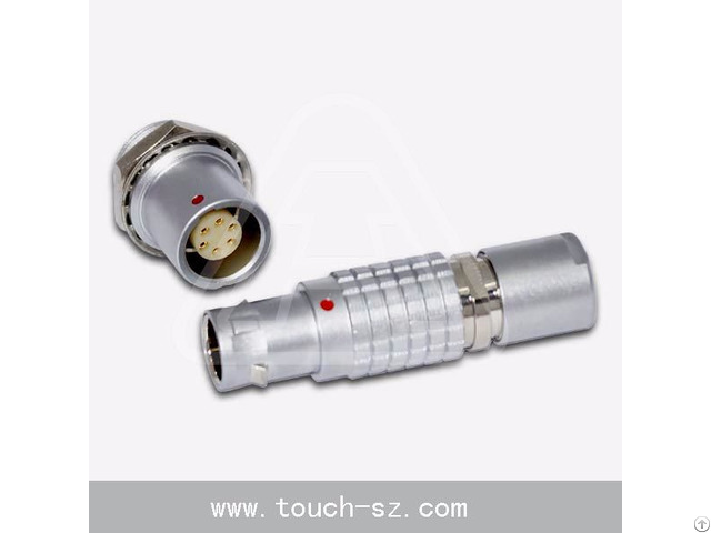 Touch 6pin Straight Plug Fgg 0b 306connector For Disposable Devices Sensors