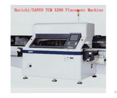 Hitachi Tcm X200 Pick And Place Machine