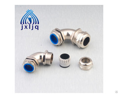 Elbow Metal Cable Gland 90 Degree