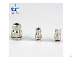 Breathable Waterproof Metal Cable Gland