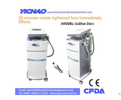 Multifunctional Winkle Removal Skin Tightening Rf Ultrasonic Face Treatment Machine
