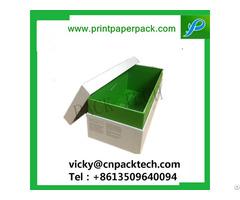 Custom Shoulder Neck Rigid Set Up Box Cardboard Gift Flower Packaging