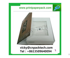 Custom Luxury One Piece Foldable Packaging Paper Box