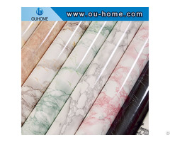Marble Design Vinyl Film For Furniture Laminate Covering