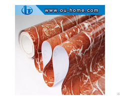 Ouhome Marble Effect Self Adhesive Wallpaper Pvc Art Sticker