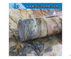 Ouhome Wall Decoration Sticker Granite Marble Effect Contact Self Adhesive Film