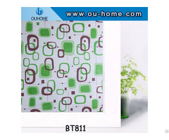 Ouhome Window Film Decorative For Glass Door Self Adhesive