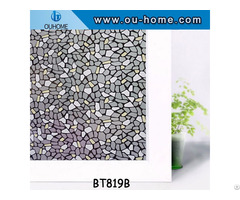 Ouhome Stained Window Film Decorative Adhesive For Glass