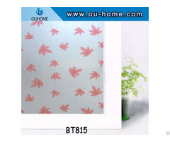 Ouhome Pvc Frosted Glass Film Privacy Flower Window Sticker