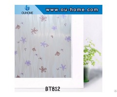 Ouhome Frosted Bathroom Home Glass Window Door Privacy Film Sticker Pvc