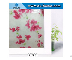 Ouhome Pvc Frosted Privacy Frost Glass Window Film Sticker