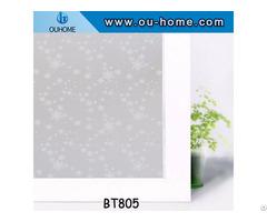 Ouhome Pvc Waterproof Self Adhesive Window Film