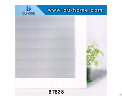 Ouhome Home Decor Privacy Stickers Glass Window Film Stained Pvc