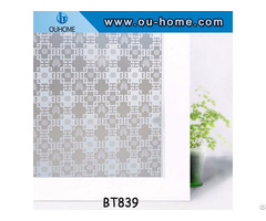 Ouhome Window Film Pvc Stained Glass Home Privacy Stickers With Glue