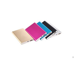 Super Ultra Slim 4000mah Power Bank With Custom Logo Portable For All Smartphones