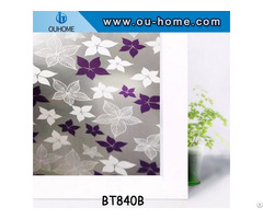 Ouhome Pvc Frosted Window Sticker Glass Film Decor
