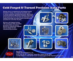 Cold Forged And Turned Fasteners