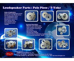 Loudspeaker Metal Parts Washer And T Yoke