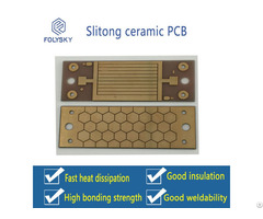 Slitong Single And Double Sided Ceramic Pcb