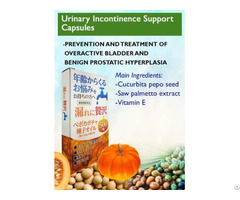 Urinary Incontinence Support Capsules