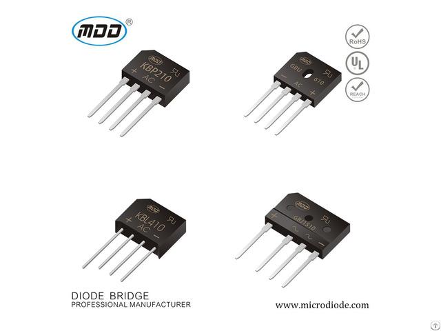 Quality Products Diode Kbp K Kbp210 Bridge Rectifier Pile 2a 1000v Kbp210k