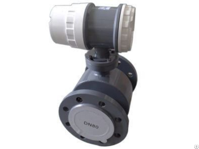 Power Supply Electromagnetic Flow Meter