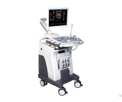 Trolly Color Doppler Ultrasound System Zero C80