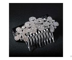 Xqz 9020 New Design Fashion Wedding Flower Hairpins Bridal Hair Clip Comb Jewelry