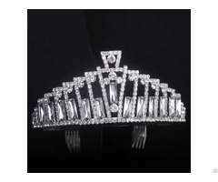 Luxury Crystal Tiaras Crowns Imitation Pearl Princess Crown Bridal Wedding Hair Accessories