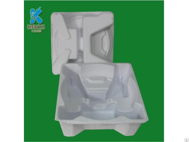 Biodegradable Recyclable Natural Sugarcane Electronic Product Inner Packaging