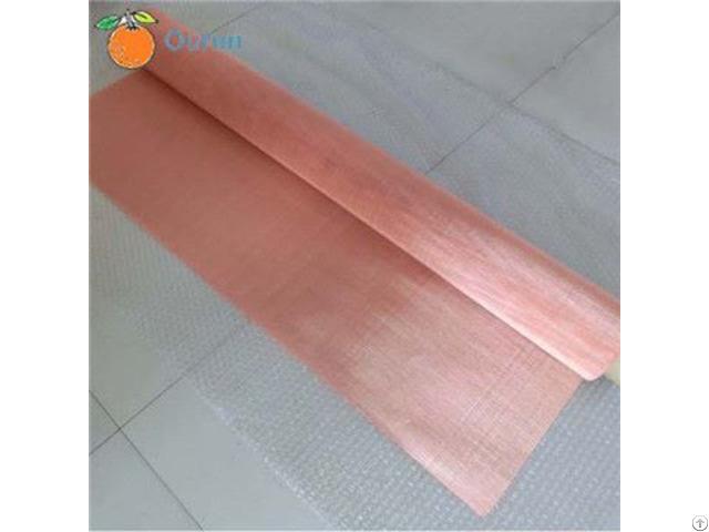 Copper Wire Emi Or Rfi Shielding Mesh