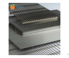 Stainless Steel Flat Wedge Wire Screen Panel For Beer Breweries