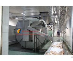 Chicken Slaughterhouse Machine Spiral Screw Chiller